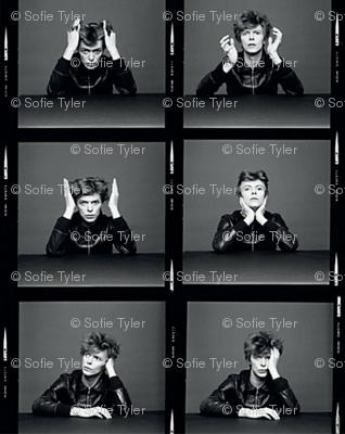 David Bowie heroes filmstrip.