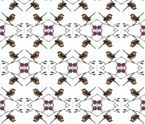 wrens_54 fabric by tat1 on Spoonflower - custom fabric