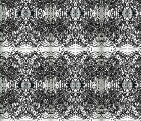 blackwhite3 fabric by maryo on Spoonflower - custom fabric