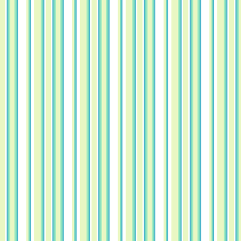 Mini Stripes - Lure - Venture - © PinkSodaPop 4ComputerHeaven.com fabric by pinksodapop on Spoonflower - custom fabric