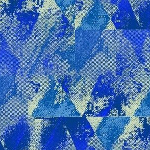 Collage in blue