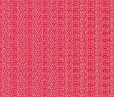 Folk Stripe fabric by amyvail on Spoonflower - custom fabric