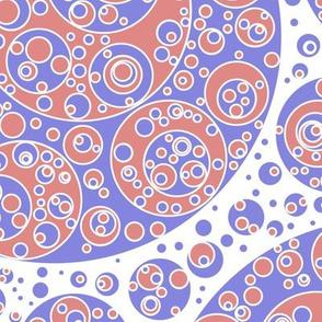 faded circles