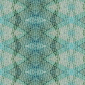 Kaleidoscioe - pastel blues, greens