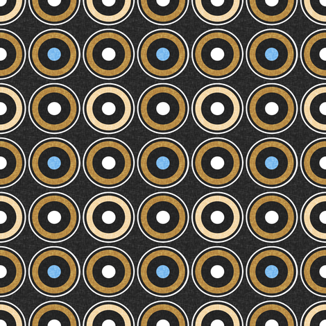 Some waterholes are salty by Su_G fabric by su_g on Spoonflower - custom fabric