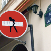 Do Not Enter, Paris