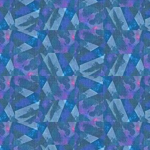 Prism Shards - blue, pink, purple