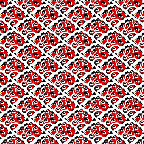Cherry pie 1 fabric by dk_designs on Spoonflower - custom fabric