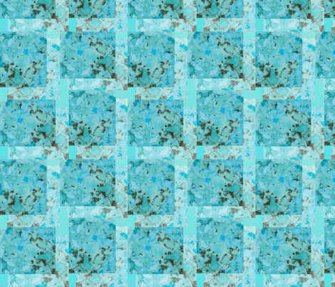 turquoise fabric by krs_expressions on Spoonflower - custom fabric