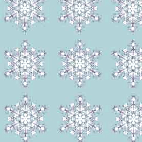 Snowflake fabric by bettinablue_designs on Spoonflower - custom fabric