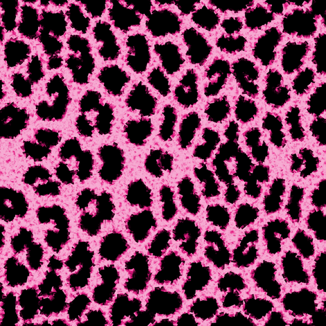 Pink Leopard fabric by peacoquettedesigns on Spoonflower - custom fabric