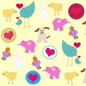 Baby Animals and Birds