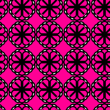 Pink Ornament fabric by georgianaparaschiv on Spoonflower - custom fabric