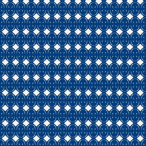 Looks Like Buttons  Navy/White