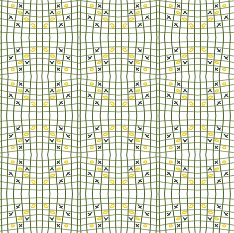 Xoxo fabric by bubiknits on Spoonflower - custom fabric