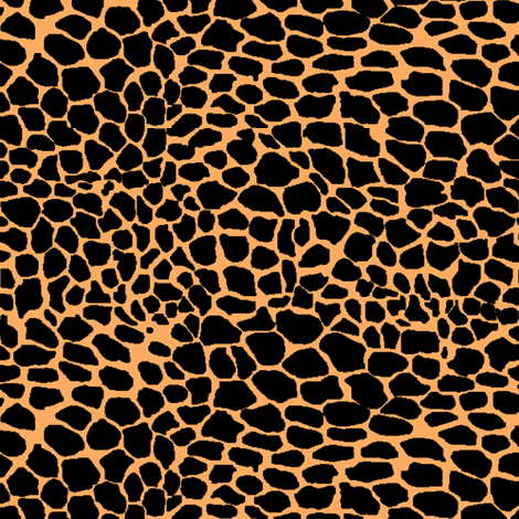 Jaguar or Leopard Spots fabric by pond_ripple on Spoonflower - custom fabric