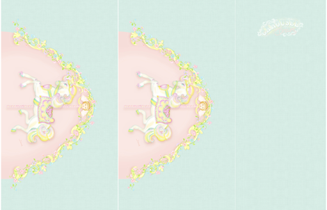 Carousel Dress fabric by dinorahdesign on Spoonflower - custom fabric