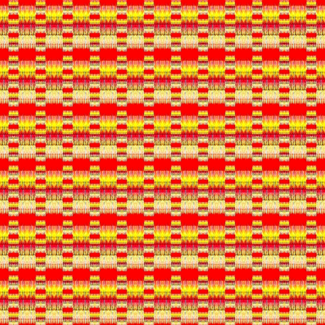 Orange and yellow dots and stripes fabric by dk_designs on Spoonflower - custom fabric
