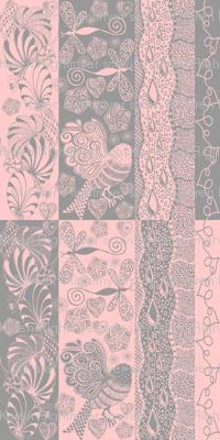 zentangle pink