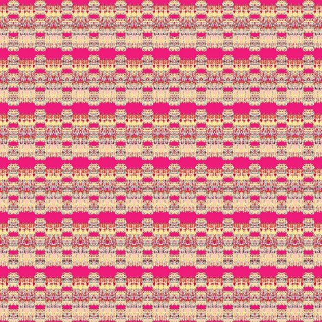 pink and tan dots and stripes fabric by dk_designs on Spoonflower - custom fabric