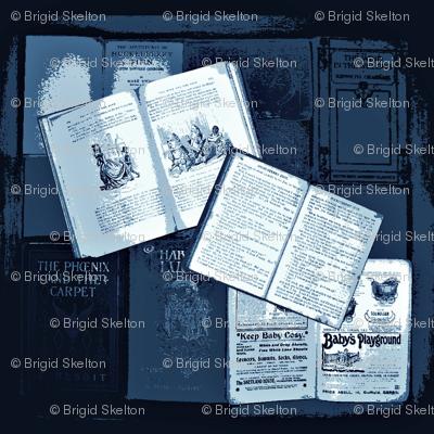 Bookbox  small slate blue