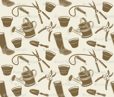 Gardening Tools ~ Mushroom