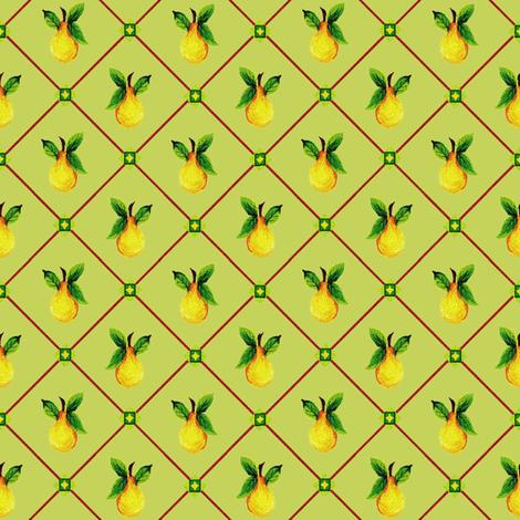 Wasabi_Pear_Print fabric by kelly_a on Spoonflower - custom fabric