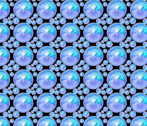 Out_of_the_Blue_2 fabric by bluewrendesigns on Spoonflower - custom fabric