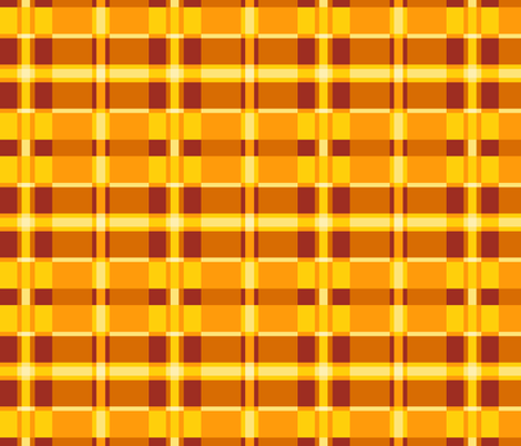 Pop Art Plaid! fabric by elramsay on Spoonflower - custom fabric
