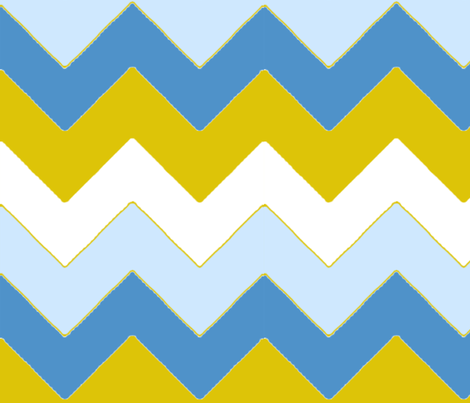 chevron_bleu_v_L fabric by nadja_petremand on Spoonflower - custom fabric