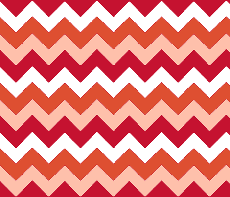 chevron_rouge_M fabric by nadja_petremand on Spoonflower - custom fabric