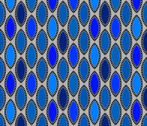 Blue Test fabric by siya on Spoonflower - custom fabric