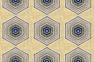 Hexagon linen