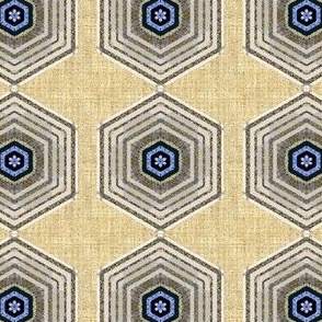 Hexagon linen