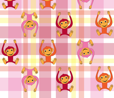 monkeymonkey fabric by suzan_ on Spoonflower - custom fabric