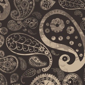 Steampunk Paisley
