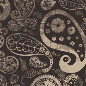 Steampunk Paisley