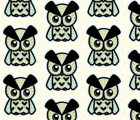 Baby Billy fabric by naïs! on Spoonflower - custom fabric