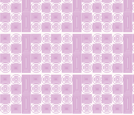 color me purple spirals fabric by vos_designs on Spoonflower - custom fabric