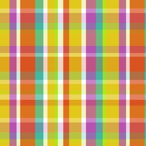 Madras Plaid Yellow