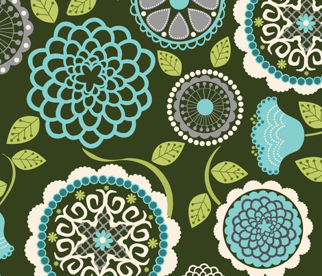 Newinvernessgreen fabric by natitys on Spoonflower - custom fabric