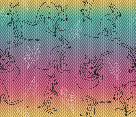 kanga_kids fabric by ruthless_art on Spoonflower - custom fabric