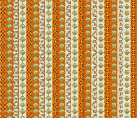 southwestern trim fabric by krs_expressions on Spoonflower - custom fabric