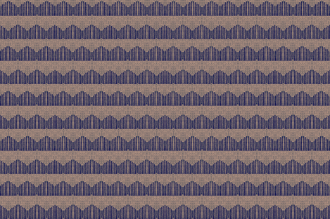 linear peaks - blue & mauve fabric by materialsgirl on Spoonflower - custom fabric
