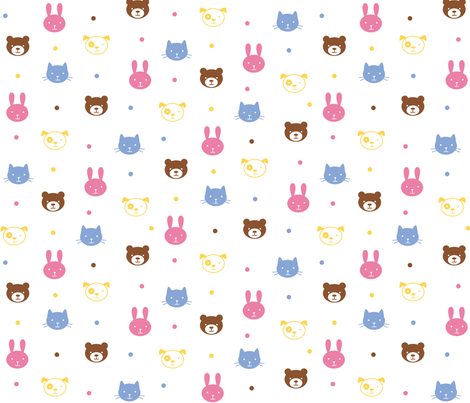 Snuggletime fabric by jenimp on Spoonflower - custom fabric
