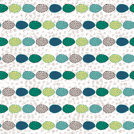 Speckled Eggs fabric by creative_merritt on Spoonflower - custom fabric