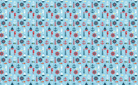 Mar fabric by valmo on Spoonflower - custom fabric