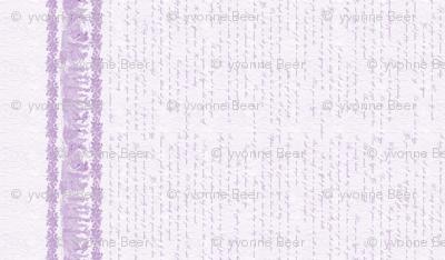 Jane Austin Says Border Print  in African Violet