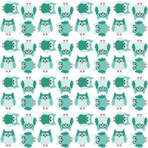 Owl so green