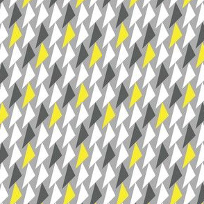Triangles grayellow